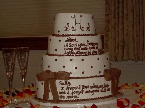 Wedding Cake Messages by Message Wedding Cakes A Wedding Cake