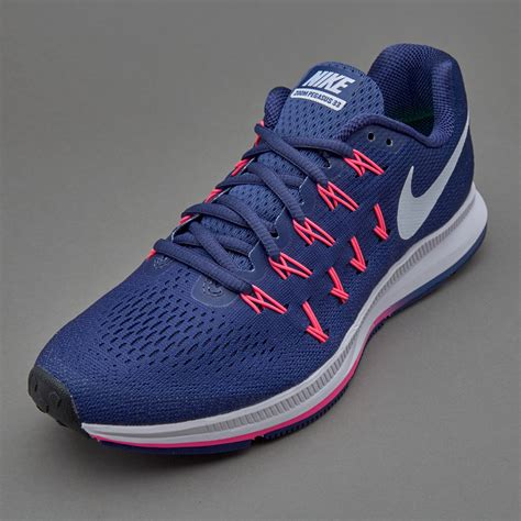 Sepatu White sepatu lari nike womens air zoom pegasus 33 purple