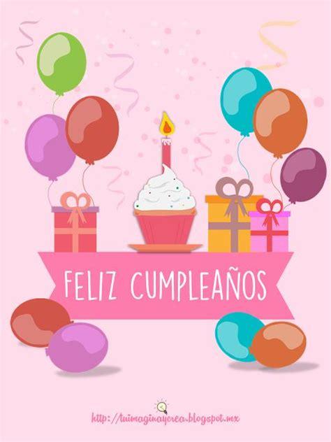 imagenes que digan feliz cumpleaños tia te quiero mucho que tengas un feliz cumplea 241 os frases para facebook en