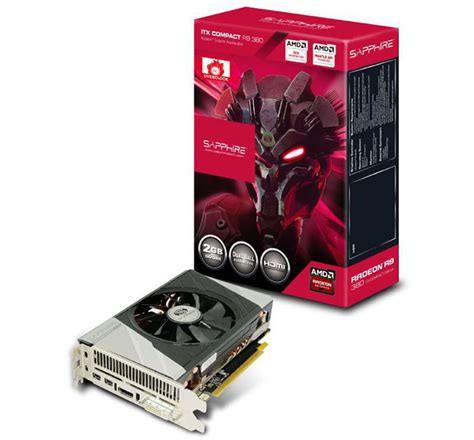 Graphic Card Untuk Sapphire Radeon R9 380 Itx Compact Edition Ships Worldwide