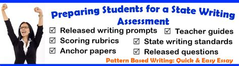 pattern based writing com state writing assessment tools and resources teaching
