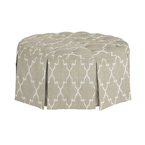 round tufted ottoman with skirt 1000 images about large round tufted ottoman on pinterest