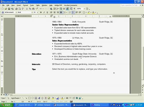 Resume Creation by Basic Resume Creation