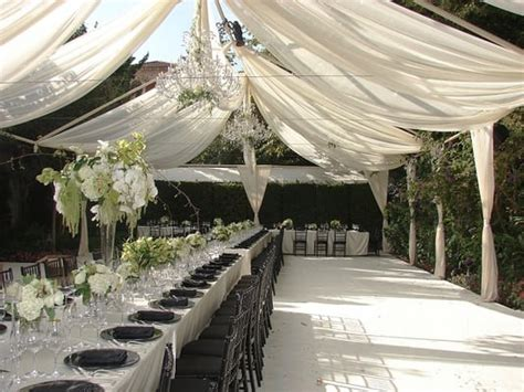tent drapes tent draping black chiavari chair charger plate linen pipe