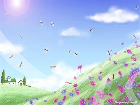wallpaper cartoon landscape widescreen cartoon background wallpapers wallpapersafari