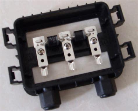 Panel Junction Box Synergymaxx Solar Energy Batteries Solar Energy