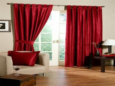 red curtains red curtains decorating ideas youtube