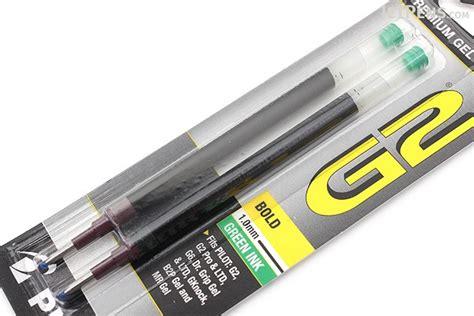 Pen Paper Pilot Pen Refill G2 pilot g2 gel pen refill 1 0 mm green pack of 2 jetpens