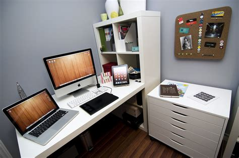 home office graphic design studio office home desk image 474413 on favim