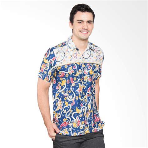 Batik Pria Brand Penguasa 1 jual jogja batik nuva sarimbit kemeja batik pria biru