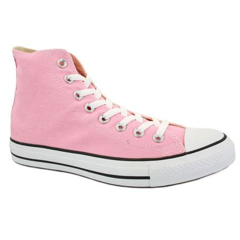 pink converse shoes converse chuck all hi 132309c unisex laced