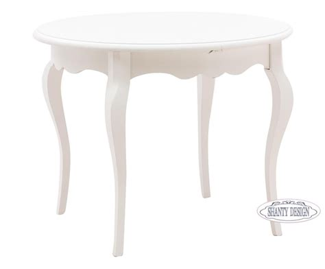 tavoli shabby chic tavolo tondo roma a shabby chic tavoli