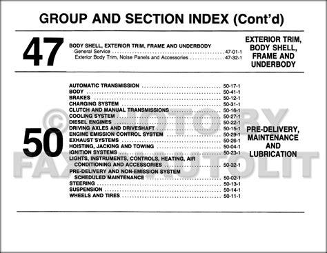 manual repair free 1987 ford f series instrument cluster service manual car service manuals pdf 1987 ford e series free book repair manuals 2001 ford