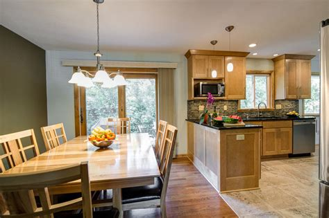 Small Kitchen Design Ideas With Island by Open Concept Kitchen Contemporary Kitchen Milwaukee By Jm Remodeling Amp Construction