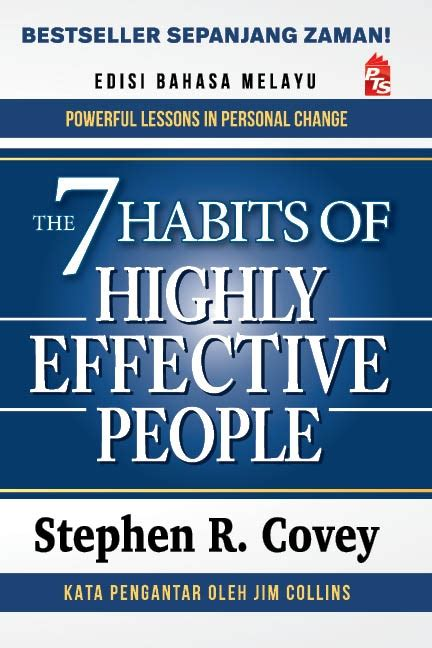 Buku Self Help The 7 Habits Of Highly Effective Peoplestephen Covey the 7 habits of highly effective edisi bahasa melayu portal pts