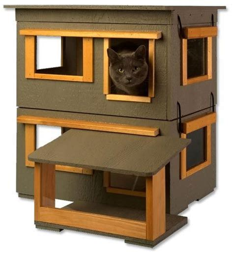 Outdoor Cat House Insulated Outdoor Cat House Plans Free Building Plans Outdoor Cat House
