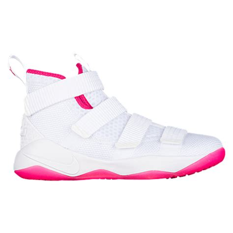 Sepatu Basket Nike Lebron 11 Grade Original nike lebron soldier 11 boys grade school basketball shoes lebron white white