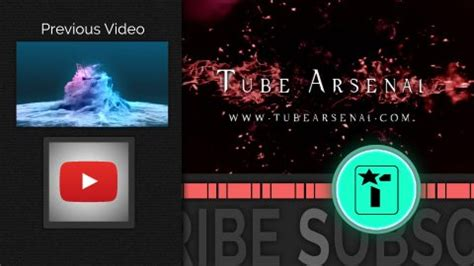 Tube Arsenal Custom Youtube Video Intro Maker Custom Intro Templates