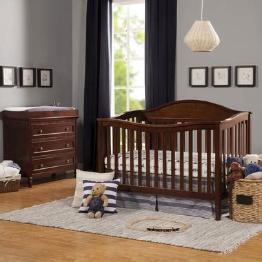 convertible crib and dresser set davinci laurel 2 nursery set convertible crib and