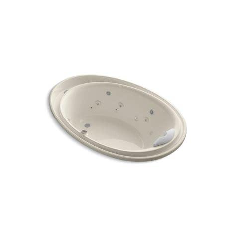 kohler purist bathtub kohler purist 6 ft whirlpool tub in almond k 1110 v 47