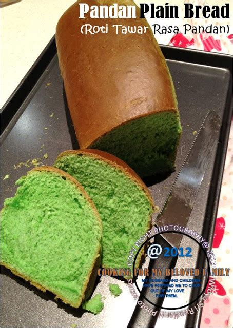 Roti Tawar Pandan By Royal Flour widya sri rusdianti s kitchen pandan plain bread roti