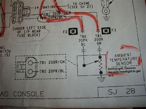 temperature sensor wiring jeep cherokee forum