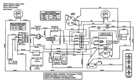 kubota 4wd schematic wiring diagrams wiring diagrams