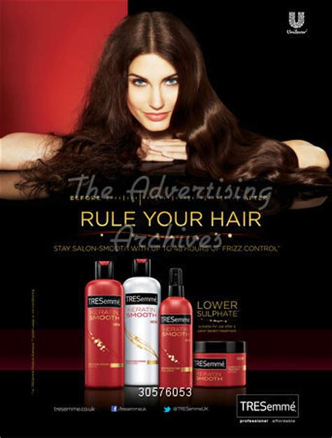 ad courtesy of e news 2010 photos of anistons lolavie promotion the advertising archives magazine advert tresemme 2010s
