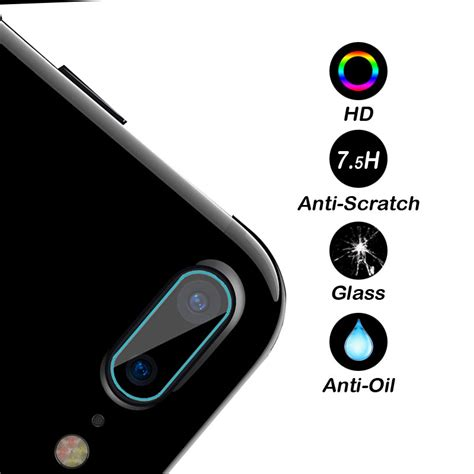 Tempered Glass Kamera Apple Iphone 7 Plus Clear tempered glass lensa kamera iphone 7 plus 8 plus jakartanotebook