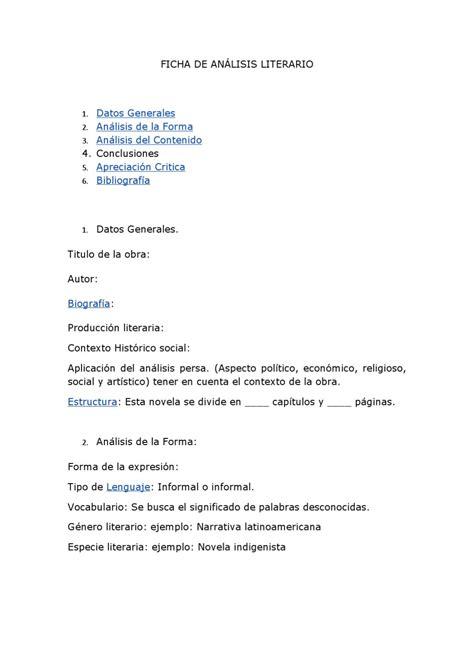 analisis literario de la obra tempestad en la cordillera ficha para realizar analisis literario by azucena figeroa