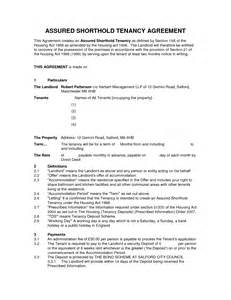 Shorthold Tenancy Agreement Template Free Download Assured Shorthold Tenancy Agreement Template Word Doc