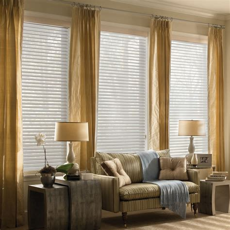 Fabric Blinds Light Filtering Sheer Shades 2 Inch Horizontal Fabric
