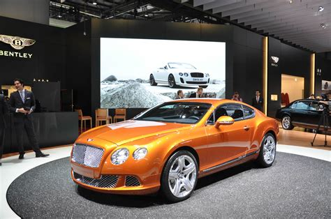 bentley orange voiture bentley continental gt orange 2011