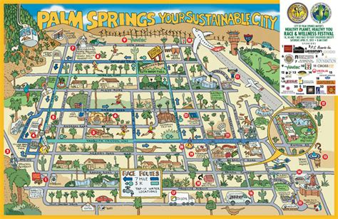 palm springs map like to while getting healthier you ll enjoy this map images frompo