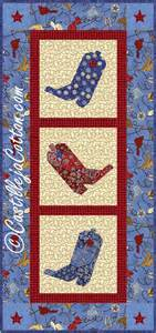items similar to tipsy boots quilt epattern 4009 7