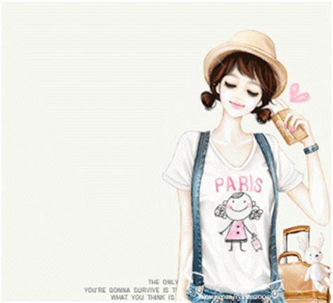 wallpaper bergerak yang cantik dewi nurkhikmah kumpulan animasi girls cartoon