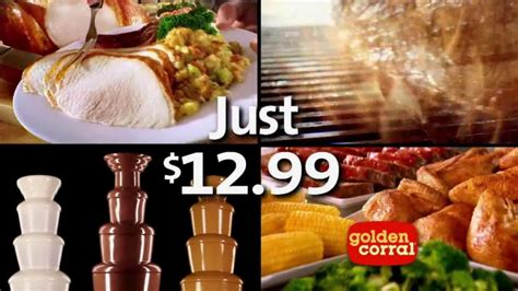 lunch buffet at golden corral golden corral thanksgiving day buffet tv spot new traditions ispot tv