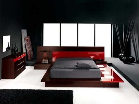 dark red bedroom elegant black and red bedroom