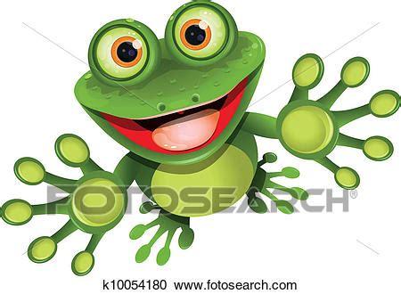 rana clipart clipart felice rana k10054180 cerca clipart
