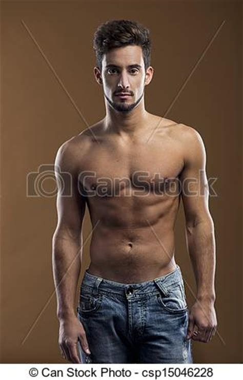 best stock photos of photo handsome man showing cell phone black stock photo of handsome shirtless male model shirtless