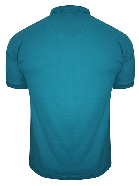 Kaos Polos Pendek Solid Teal 1 buy t shirts fila teal polo t shirt 12004389