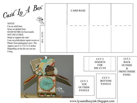 card in a box file make the cut forum