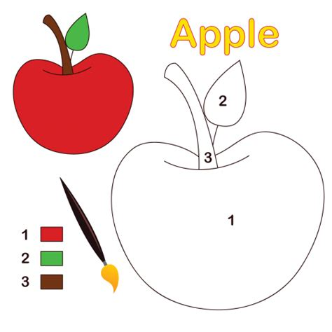 apple number coloring pages search results for christmas coloring pages free color by