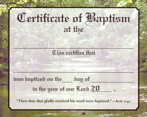 christian baptism certificate template about contact