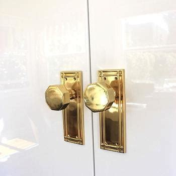 Pantry Door Knobs by White Pantry Doors With Brass And Glass Door Knobs