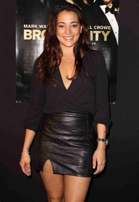 lovely in leather natalie martinez in a leather
