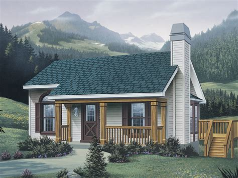 Vacation Cottage House Plans by Woodsmill Vacation Cabin Home Plan 007d 0042 House Plans