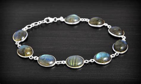 bracelet labradorite argent excalibur bijoux