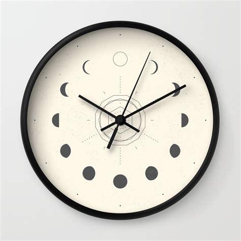 wall clock nature wall clocks society6