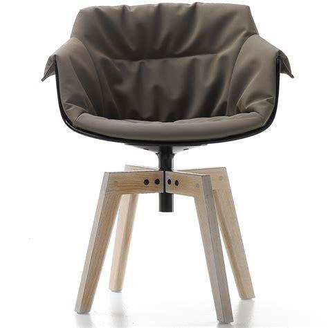 stuhl untergestell mdf italia flow slim chair geposterter stuhl mit eichen